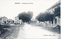 BRENOD ( 01 ) - Le Quartier De La Gare - Other Municipalities