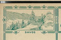 Carte Illustré Neuve N° 115 - 005  DAVOS  (Zumstein 2009) - Entiers Postaux
