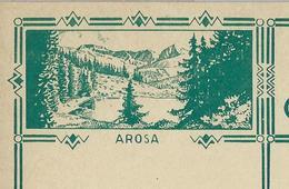 Carte Illustré Neuve N° 115 - 002   AROSA  (Zumstein 2009) - Entiers Postaux