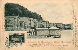 Gruss Aus Bouyukdéré ( Bosphore ) - 1900 - Büyükdere Sarıyer Istanbul - TP + Cachet + Oblitérations !!! - Turkey