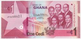 Ghana NEW - 1 Cedi 4.3.2019 - UNC - Ghana