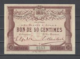 Chambre De Commerce Du TREPORT  Billet De 50c - Chamber Of Commerce