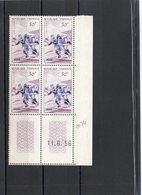 France. Coins Datés. 50 Frcs.  RUGBY.  Serres.  11.6.56.. ...  Neufs Sans Charnières. - 1950-1959