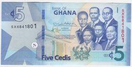 Ghana NEW - 5 Cedis 4.3.2019 - UNC - Ghana
