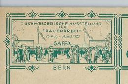 Carte Illustré Neuve N° 115 - 004 BERN  (exposition SAFFA)  (Zumstein 2009) - Entiers Postaux