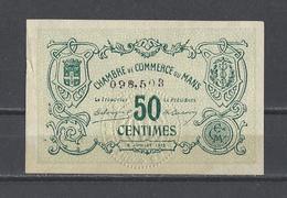 Chambre De Commerce Du MANS  Billet De 50c - Chambre De Commerce