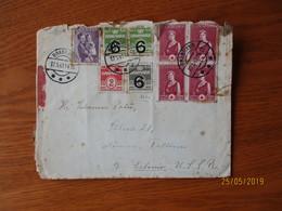 DENMARK BRABRAND 1941 TO ESTONIA USSR RUSSIA ,  CENSOR COVER , O - 1913-47 (Christian X)