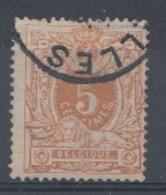 Belqique 1869  Mi.Nr: 25 Ziffer  Oblitèré / Used / Gebruikt - 1865-1866 Profile Left