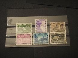 EQUADOR - 1957 GALAPAGOS 6 VALORI - NUOVI(++) - Ecuador