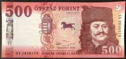 Hungary NEW - 500 Forint 2018 - UNC - Ungheria