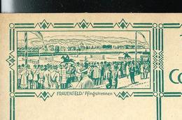 Carte Illustré Neuve N° 115 - 007 FRAUENFELD / Pfingstrennen  ( Course Hippique - Chevaux- Horses) (Zumstein 2009) - Entiers Postaux