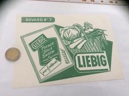 Buvard ** «LIEBIG - N°7 POTAGE BELLE SAISON Aux Légumes» - Potages & Sauces