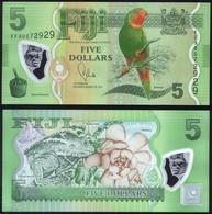 Fiji P 115 - 5 Dollars ( 2013 ) POLYMER - UNC - Fiji