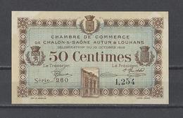 Chambre De Commerce De CHALON SUR SAÔNE  Billet De 50c - Chambre De Commerce