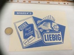 Buvard «LIEBIG - N°8 SOUPE DE POISSONS» - Sopas & Salsas