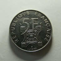 France 5 Francs 1989 - France