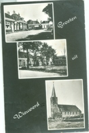 Wieuwerd 1972; Groeten, Drieluik - Gelopen. - Niederlande