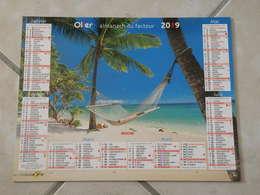 Îles Fidji & Bora Bora - Calendrier 2019 Oller - - Calendriers