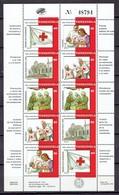Venezuela 1995 - Red Cross, Sheet Of 2 Sets - Mi. 2913-17 - MNH, NEUF, Postfrisch - Venezuela