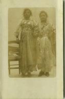 AFRICA - LIBYA / LIBIA - DONNE IN COSTUME - RPPC POSTCARD 1910s (BG3487) - Libia