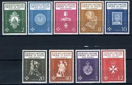1966 - S.M.O.M. - Sovrano Militare Ordine Di Malta - Catg. Unif.  1/9 - Mint - NH - (VS10022015...) - Sovrano Militare Ordine Di Malta