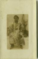 AFRICA - LIBYA / LIBIA - DONNA IN COSTUME - RPPC POSTCARD 1910s (BG3488) - Libia