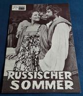 "Claudia Cardinale, Oliver Reed, John McEnery > ""Russischer Sommer"" > Altes NFP-Filmprogramm '1973 (fp345) - Zeitschriften"