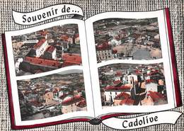 CADOLIVE - Centre Du Village - Place Des Ecoles - Vue Générale - Quartier De L'Eglise - Livre Ouvert - Other Municipalities