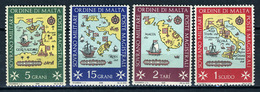 1968 - S.M.O.M. - Sovrano Militare Ordine Di Malta - Catg. Unif.  23/26 - Mint - NH - (VS10022015...) - Malte (Ordre De)