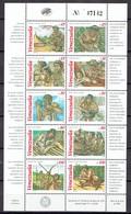Venezuela 1995 - Aboriginals, Serie II, Sheet - Mi. 2920-29 - MNH, NEUF, Postfrisch - Venezuela