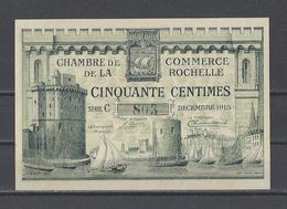 Chambre De Commerce De La ROCHELLE  Billet De 50c - Chamber Of Commerce