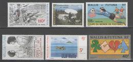 WALLIS:  N°463/468 **        - Cote 11,75€ - - Wallis And Futuna