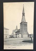 CINEY - L'EGLISE - 1908 - Ciney