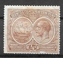 1920 1/4 Penny King George V, Used - Bermuda