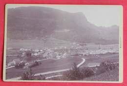 1880-1890 Photo Format Cabinet Vallorbe CH Suisse Dos Scanné éditeur Non Précisé - Photos
