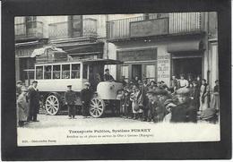CPA Espagne Spain GERONA Autobus Purrey Voir Scan Du Dos - Andere
