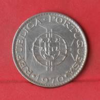 ANGOLA 10 ESCUDOS 1970 -    KM# 79 - (Nº28922) - Portugal