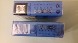 PAQUET DE GAULOISES ANCIEN - Cigarettes - Accessoires