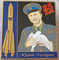 362-2 Space Russian Pin. GAGARIN 85th Birthday. Booster Vostok - Space