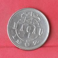 MACAU 1 PATACA 1992 -    KM# 57 - (Nº28924) - Macau