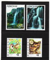 TNT161 DÄNEMARK - FÄRÖER 1999  Michl 352/55 ** Postfrisch SIEHE ABBILDUNG - Färöer Inseln