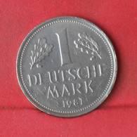 GERMANY FEDERAL REPUBLIC 1 MARK 1981-G -    KM# 110 - (Nº28926) - [ 7] 1949-… : FRG - Fed. Rep. Germany