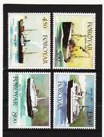 TNT162 DÄNEMARK - FÄRÖER 1999  Michl 348/51 ** Postfrisch SIEHE ABBILDUNG - Färöer Inseln