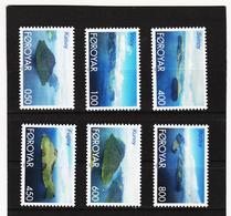 TNT163 DÄNEMARK - FÄRÖER 1999  Michl 356/61 ** Postfrisch SIEHE ABBILDUNG - Färöer Inseln