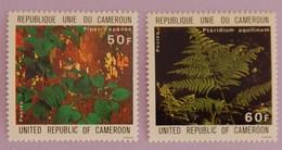 "CAMEROUN YT 645/646 NEUFS(**) ""PLANTES MEDICINALES ""ANNÉE 1979 - Cameroon (1960-...)"
