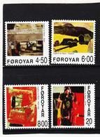 TNT164 DÄNEMARK - FÄRÖER 1999  Michl 362/65 ** Postfrisch SIEHE ABBILDUNG - Färöer Inseln