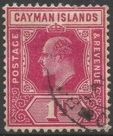 Cayman Islands. 1907-09 KEVII. 1d Used. SG 26 - Cayman Islands