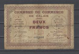 Chambre De Commerce De CALAIS  Billet De 2.00F - Chamber Of Commerce