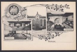 AK - BERLIN, Europäischer Baptisten Congress / Baptist Congress In 1908 - # 2 - Germany