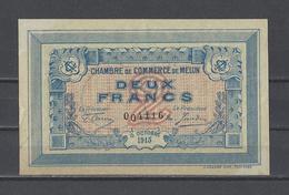 Chambre De Commerce De MELUN  Billet De 2.00F - Chambre De Commerce